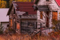 Old towns and forgotten memories stock photography