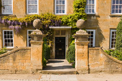 Old town house entrance Royalty Free Stock Photos
