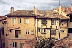 Old Town. Houses in the Old Town Royalty Free Stock Photography