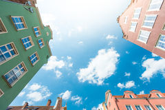 Old town houses in Gdansk, Poland, Europe. Stock Image