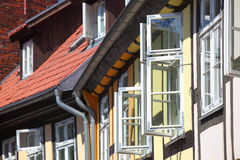 Old Town Houses Royalty Free Stock Image