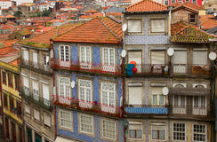 Old town houses  Porto, Portugal Stock Photo