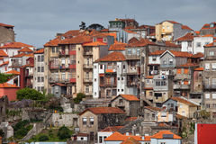 Old Town Houses of Porto in Portugal Stock Image
