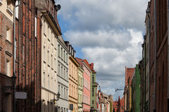 Old Town Houses in Torun Royalty Free Stock Photography
