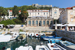 Old Town of Hvar Stock Photo