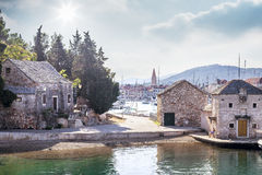 Old town of Hvar Island Royalty Free Stock Photography