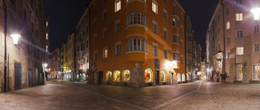 Old town in Innsbruck Austria Royalty Free Stock Photography