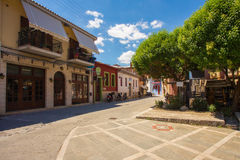The old town in Ioannina, Greece Royalty Free Stock Photos