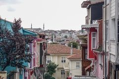 Old town of Istanbul, Turkey stock photos