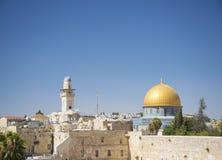 Old town of jerusalem israel Stock Images