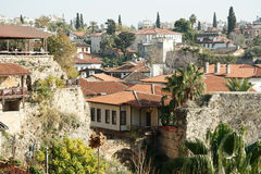 The Old Town Kaleici in Antalya, Turkey Royalty Free Stock Image