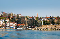 Old town Kaleici in Antalya Royalty Free Stock Photography