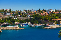 Old town Kaleici in Antalya Turkey Royalty Free Stock Images