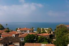 Old town Kaleici in Antalya, Turkey. A view of Old town Kaleici in Antalya, Turkey Royalty Free Stock Photos