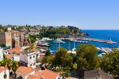 Old Town Kaleici In Antalya, Turkey Stock Image