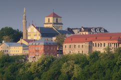 Old town of Kamenetz-Podolsk Stock Image