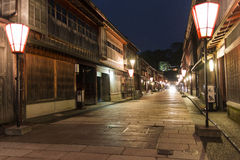 Old town of Kanazawa, Japan Stock Image