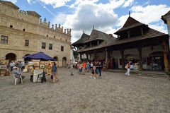 Old town on Kazimierz Dolny in Poland. Royalty Free Stock Image