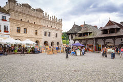 Old town of Kazimierz Dolny in Poland Stock Photo