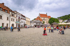 Old town of Kazimierz Dolny in Poland Stock Image