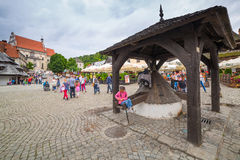 Old town of Kazimierz Dolny in Poland Stock Images