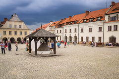 Old town of Kazimierz Dolny in Poland Stock Photography