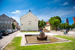 Old-town of Klaipeda, Lithuania Royalty Free Stock Images
