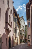 Old town of Klausen Stock Image