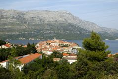 Old Town Korcula Royalty Free Stock Photos