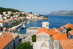 The old town of Korcula Royalty Free Stock Photography
