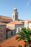The old town of Korcula Stock Image
