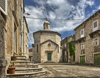 Old Town Korcula at Croatia. Royalty Free Stock Photos