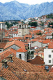 The Old Town of Kotor from above Royalty Free Stock Image