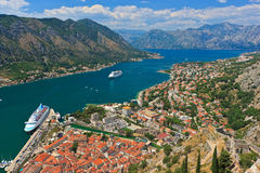 Old town of Kotor Stock Image