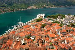 The Old Town of Kotor, Montenegro Stock Photo