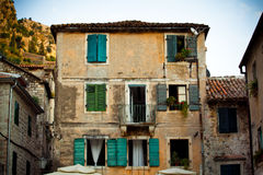 Old town of Kotor in Montenegro Stock Images