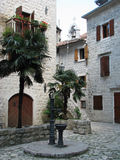 Old town in Kotor (Montenegro) Royalty Free Stock Photos