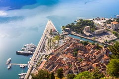 Old town in Kotor. Montenegro Royalty Free Stock Photography