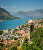 Old town in Kotor Stock Images