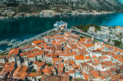 The old town of Kotor Stock Image