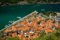 Old town of Kotor Stock Photography