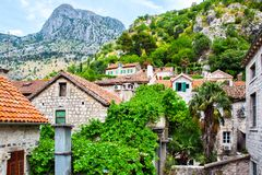 Old town of Kotor Stock Photo