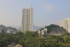Old town of kowloon city hong kong. The old town of kowloon city hong kong stock image