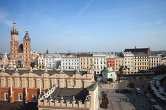 Old Town in Krakow Royalty Free Stock Images