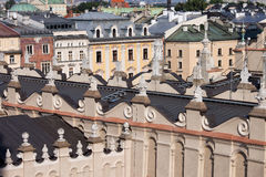 Old Town of Krakow Historic Architecture Royalty Free Stock Photo