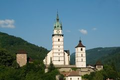 Old town Kremnica, Slovakia Stock Photography