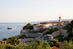 Old Town of Krk, Croatia Royalty Free Stock Photos