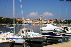 Old Town of Krk, Croatia Stock Photography