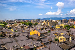 Old town Kyoto, Japan royalty free stock image
