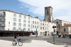 Old town of La Rochelle, France Stock Photos